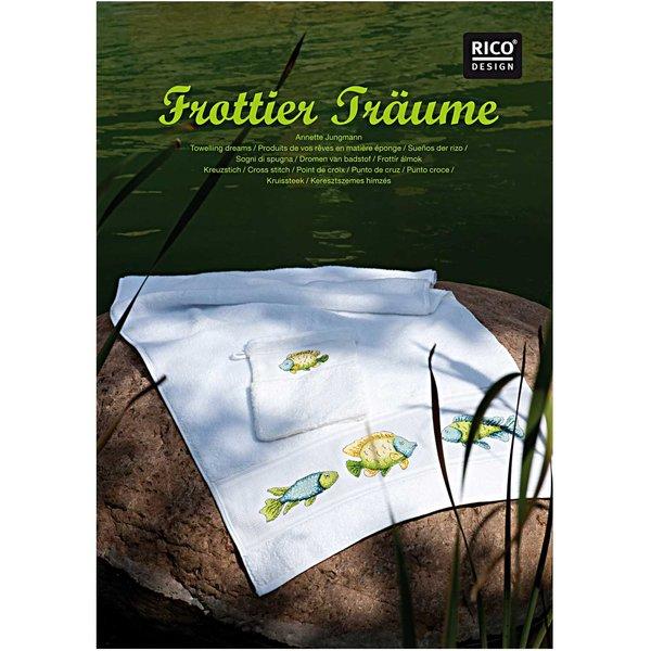 Rico Design Stickbuch Frottier Träume Nr.123