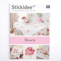Rico Design Stick-Idee Nr.44 Rosen