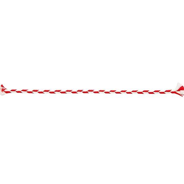 Rico Design Kordel rot-weiß 3mm 2m