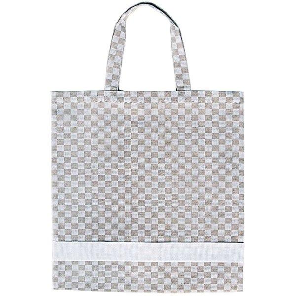 Rico Design Tasche natur-weiß 39x42cm