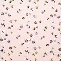 Rico Design Stoff Jersey Murmeln rosa 70x100cm