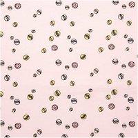 Rico Design Druckstoff Murmeln rosa 140cm