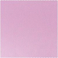 Rico Design Stoff Zickzack rosa 50x160cm