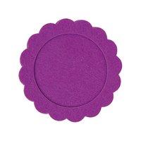 Rico Design Filzrahmen rund lila 10cm