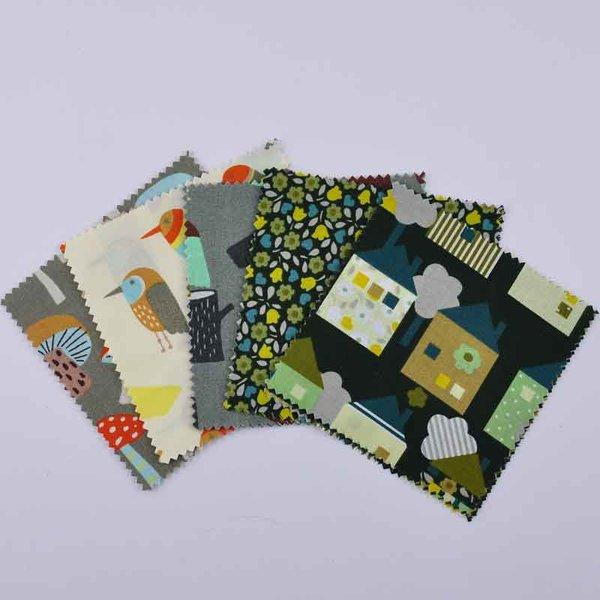 Rico Design Stoffpaket Mix19 13,5x13,5cm 20 Stück