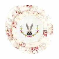 Rico Design Stickpackung Marmeladendeckchen Hase 8cm