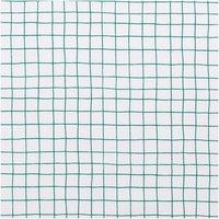 Rico Design Druckstoff Hygge kariert weiß-grün 50x140cm