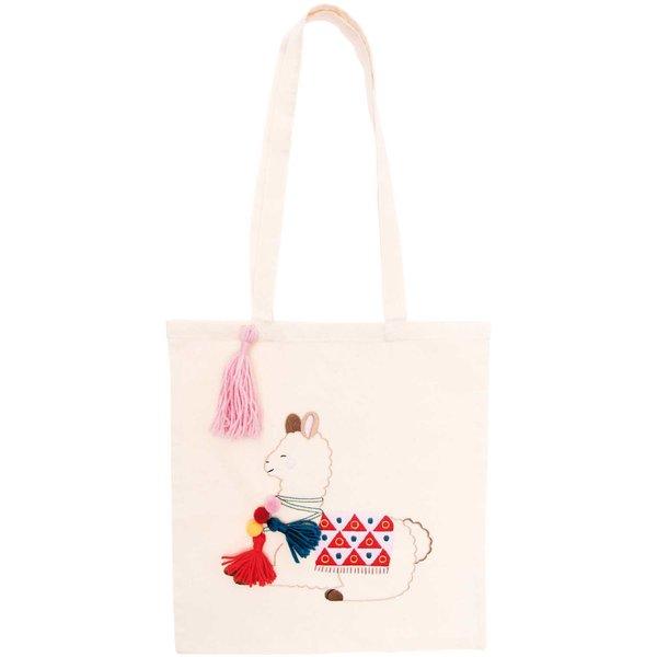 Rico Design Stickpackung Tasche Lama 38x42cm