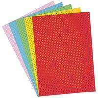 Paper Poetry Stickkarton mehrfarbig 17,5x24,5cm 10 Bogen
