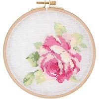 Rico Design Stickpackung Rosenblüte 15,5cm