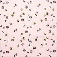 Rico Design Druckstoff Murmeln rosa 50x140cm