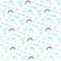Rico Design Stoff Jersey Regenbogen 70x100cm