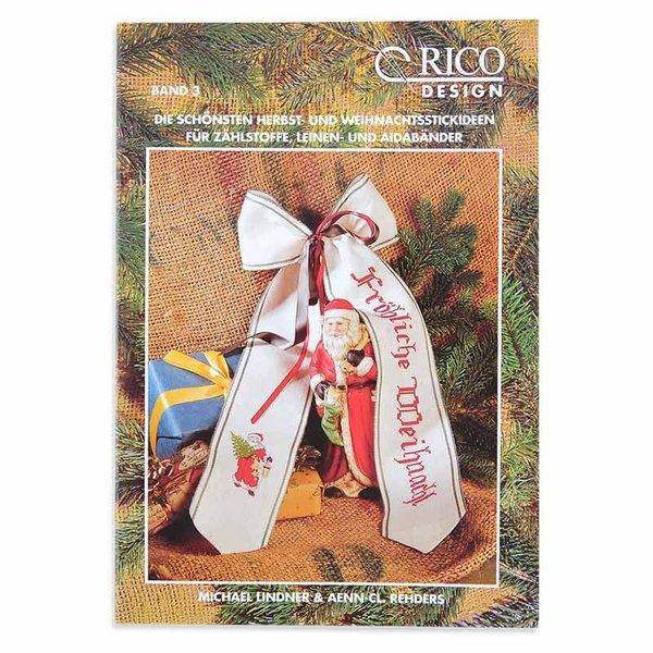 Rico Design Herbst- und Weihnachtsstickideen Nr.3