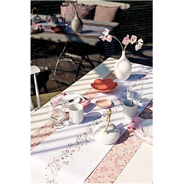 Rico Design Stickpackung Tischband Streublümchen 29x155cm