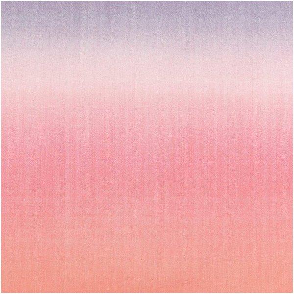 Rico Design Druckstoff Crafted Nature Farbverlauf rosa 140cm