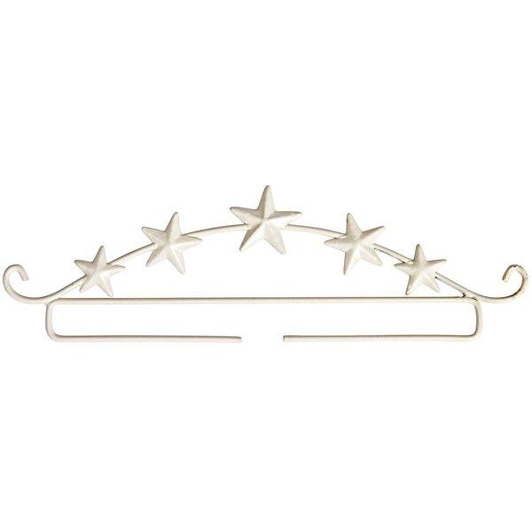 Rico Design Dekobügel Sterne weiß 21cm