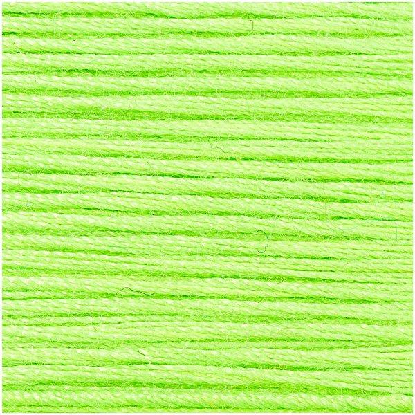 Rico Design Sticktwist neongrün 20m