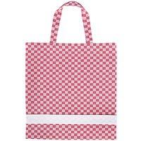 Rico Design Tasche rot-weiß 39x42cm
