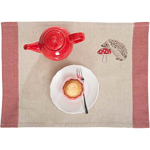 Rico Design Stickpackung Platzset Igelfamilie