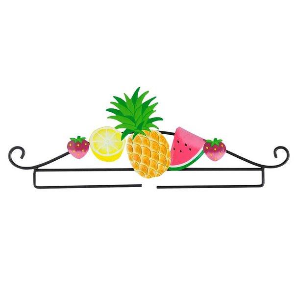 Rico Design Dekobügel Früchte schwarz 31cm