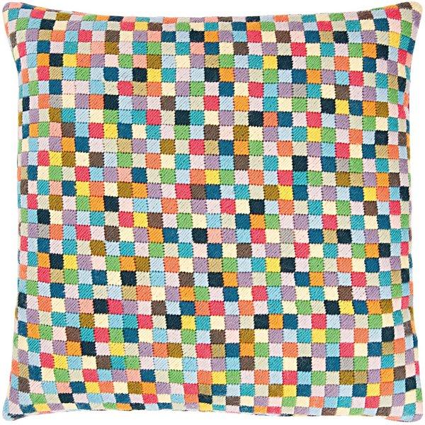 Rico Design Gobelin Kissen Quadrate klein 40x40cm zum Sticken