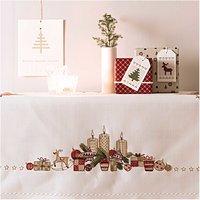 Rico Design Stickpackung Decke Kerzengesteck 90x90cm