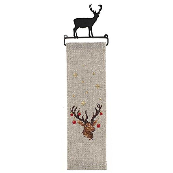Rico Design Stickpackung Behang Hirsch 10x32cm
