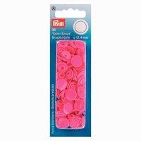 Prym Color Snaps Druckknöpfe pink 12,4mm 30 Stück