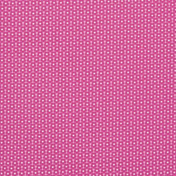 Rico Design Stoff Doilies rosa-pink 160cm